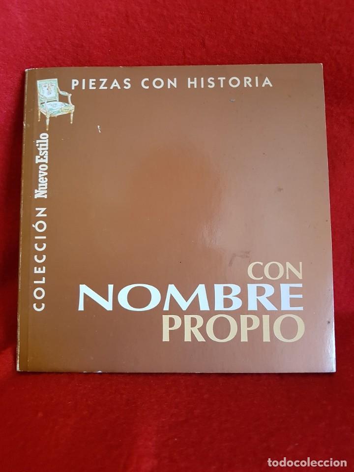 PIEZAS CON HISTORIA (Libros Antiguos, Raros y Curiosos - Bellas artes, ocio y coleccion - Diseño y Fotografía)