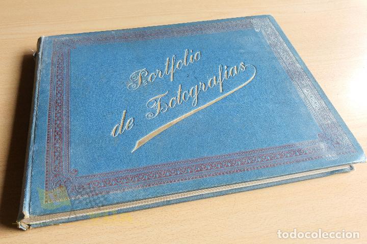 PORTFOLIO DE FOTOGRAFIAS DE LAS CIUDADES, PAISAJES Y CUADROS CÉLEBRES (Libros Antiguos, Raros y Curiosos - Bellas artes, ocio y coleccion - Diseño y Fotografía)