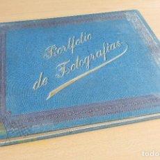 Libros antiguos: PORTFOLIO DE FOTOGRAFIAS DE LAS CIUDADES, PAISAJES Y CUADROS CÉLEBRES. Lote 135894298