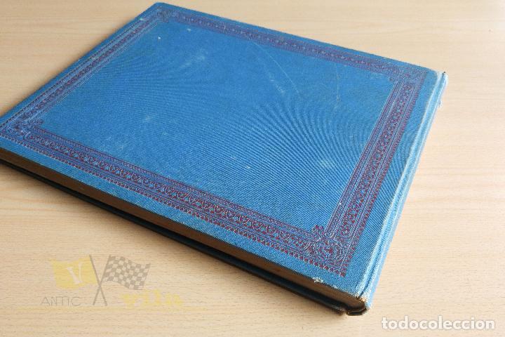 Libros antiguos: Portfolio de fotografias de las ciudades, paisajes y cuadros célebres - Foto 2 - 135894298