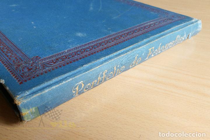 Libros antiguos: Portfolio de fotografias de las ciudades, paisajes y cuadros célebres - Foto 3 - 135894298