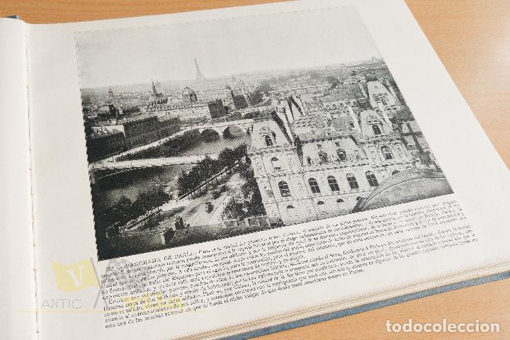 Libros antiguos: Portfolio de fotografias de las ciudades, paisajes y cuadros célebres - Foto 6 - 135894298