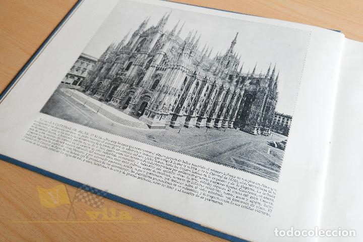 Libros antiguos: Portfolio de fotografias de las ciudades, paisajes y cuadros célebres - Foto 8 - 135894298