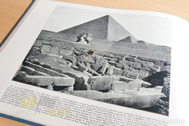 Libros antiguos: Portfolio de fotografias de las ciudades, paisajes y cuadros célebres - Foto 9 - 135894298