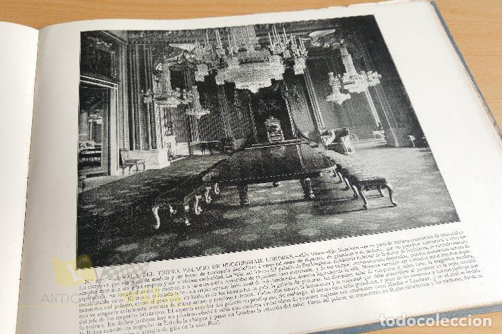 Libros antiguos: Portfolio de fotografias de las ciudades, paisajes y cuadros célebres - Foto 12 - 135894298