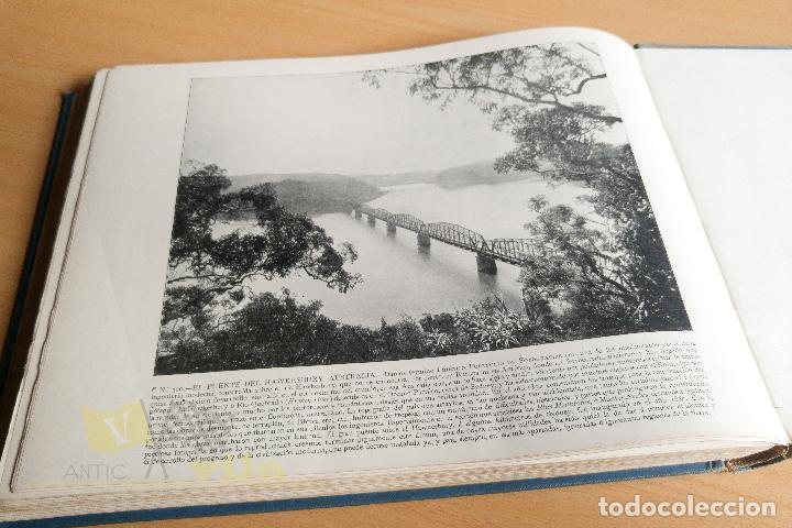 Libros antiguos: Portfolio de fotografias de las ciudades, paisajes y cuadros célebres - Foto 16 - 135894298