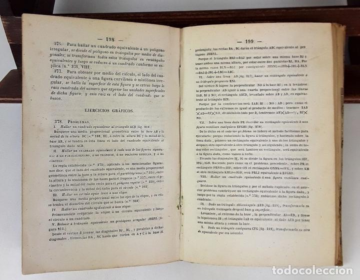 Libros antiguos: CURSO METÓDICO DE DIBUJO LINEAL. ANDRÉS GIRÓ. LIBR. GASPAR Y ROIG. 1865. - Foto 5 - 139527274