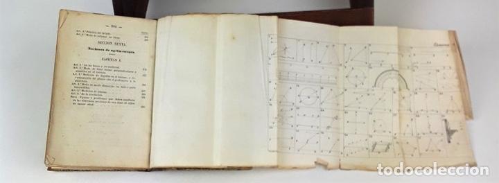 Libros antiguos: CURSO METÓDICO DE DIBUJO LINEAL. ANDRÉS GIRÓ. LIBR. GASPAR Y ROIG. 1865. - Foto 6 - 139527274