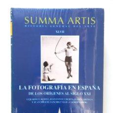 Libros antiguos: SUMMA ARTIS VOLUMEN XLVII / LA FOTOGRAFÍA EN ESPAÑA DE LOS ORÍGENES AL SIGLO XXI / PRECINTADO . Lote 139759410
