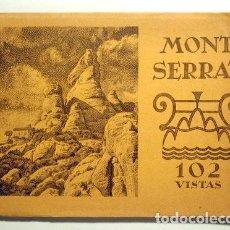 Livres anciens: MONTSERRAT. 102 VISTAS - HUECOGRABADO RIEUSSET - FOTOGRAFÍAS. Lote 140977129