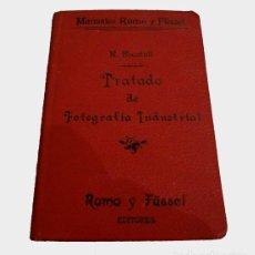 Libros antiguos: LIBRO DE 1900: TRATADO PRÁCTICO DE FOTOGRAFÍA INDUSTRIAL. Lote 143731894