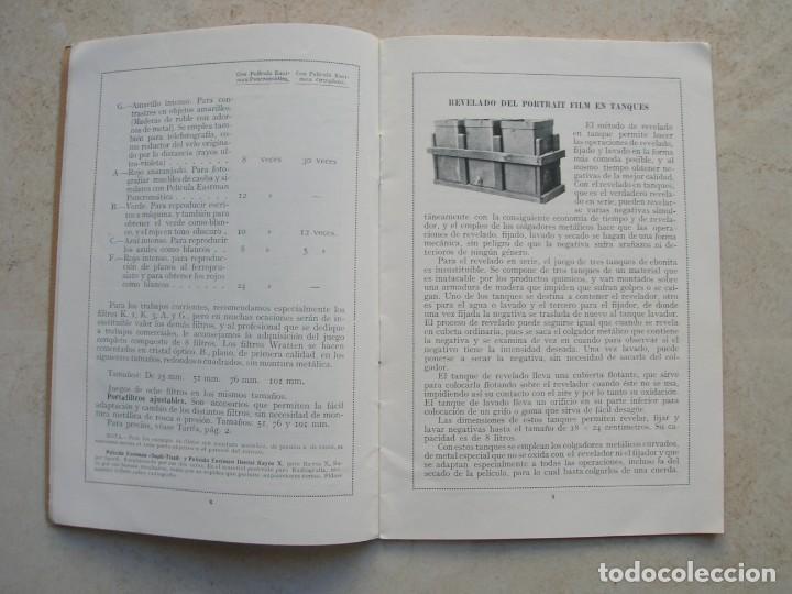 Libros antiguos: Productos especiales para fotógrafos.Kodak, S.A.Madrid.1924-1925 - Foto 3 - 144381210