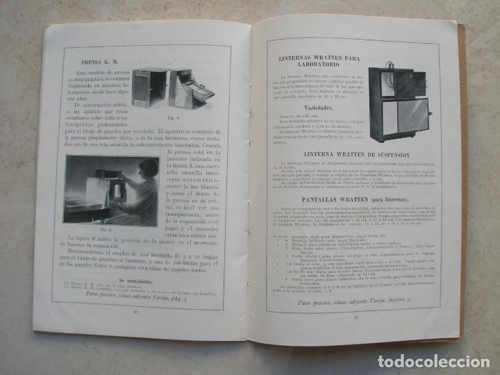 Libros antiguos: Productos especiales para fotógrafos.Kodak, S.A.Madrid.1924-1925 - Foto 4 - 144381210