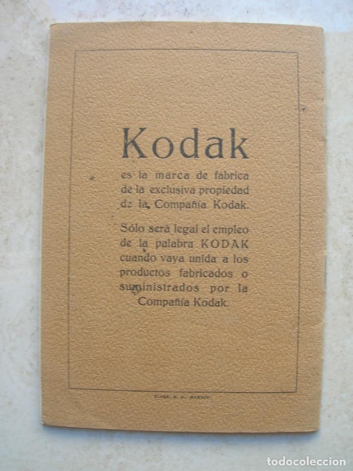 Libros antiguos: Productos especiales para fotógrafos.Kodak, S.A.Madrid.1924-1925 - Foto 5 - 144381210