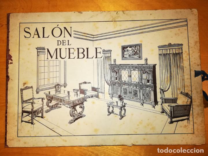 SALON DEL MUEBLE. 36 LÁMINAS CON 337 MODELOS (Libros Antiguos, Raros y Curiosos - Bellas artes, ocio y coleccion - Diseño y Fotografía)