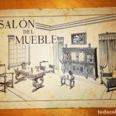 Libros antiguos: SALON DEL MUEBLE. 36 LÁMINAS CON 337 MODELOS. Lote 145112910