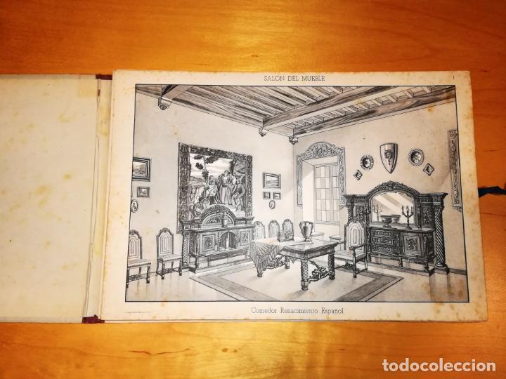 Libros antiguos: SALON DEL MUEBLE. 36 LÁMINAS CON 337 MODELOS - Foto 3 - 145112910