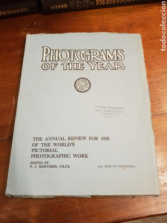 FOTOGRAMAS DEL AÑO 1924 REVISION ANUAL PARA 1925 DE LA OBRA GRAFICA MUNDIAL PICTORICA (Libros Antiguos, Raros y Curiosos - Bellas artes, ocio y coleccion - Diseño y Fotografía)