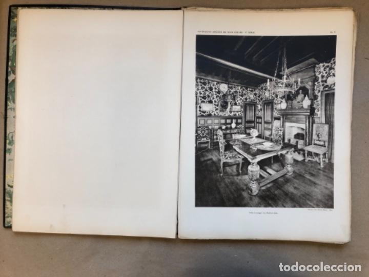 Libros antiguos: INTERIORES ANTIGUOS - INTÉRIEURS ANCIENS DE TOUS STYLES (PREMIÈRE SÉRIE). EDITIONS D'ART CHARLES - Foto 5 - 147455986