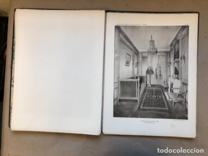 Libros antiguos: INTERIORES ANTIGUOS - INTÉRIEURS ANCIENS DE TOUS STYLES (PREMIÈRE SÉRIE). EDITIONS D'ART CHARLES - Foto 7 - 147455986