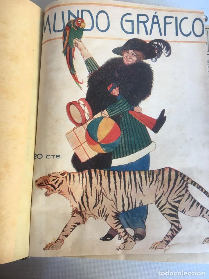 Libros antiguos: Mundo gráfico - Foto 2 - 148693224