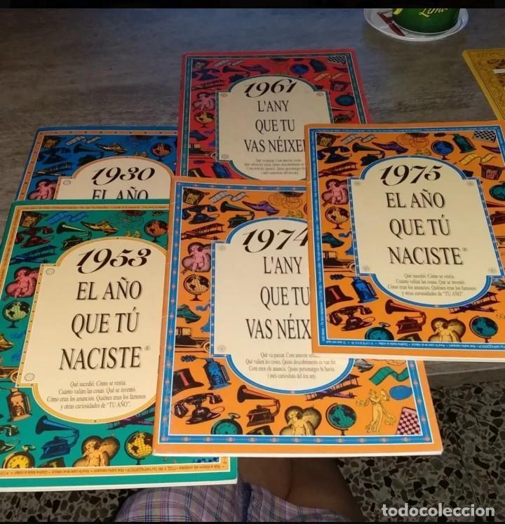 5 LIBROS DE EL AÑO QUE TU NACISTE (Libros Antiguos, Raros y Curiosos - Bellas artes, ocio y coleccion - Diseño y Fotografía)