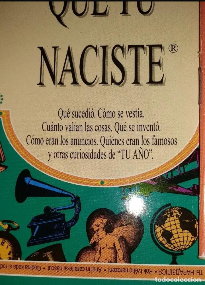Libros antiguos: 5 LIBROS DE EL AÑO QUE TU NACISTE - Foto 2 - 152225566