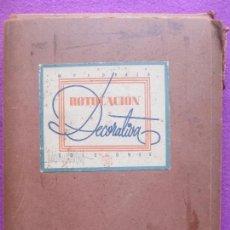 Libros antiguos: CARPETA ROTULACION DECORATIVA, EDICIONES, M. PEDRAZA, 137 LAMINAS C4. Lote 153090810