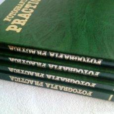 Libros antiguos: FOTOGRAFÍA PRÁCTICA * 4 TOMOS * EXCELENTE ESTADO * NUEVA LENTE 1979 COLECCIÓN COMPLETA. Lote 153205082