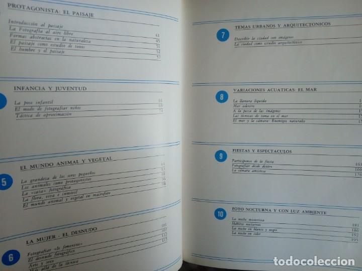 Libros antiguos: FOTOGRAFÍA PRÁCTICA * 4 TOMOS * EXCELENTE ESTADO * Nueva Lente 1979 Colección Completa - Foto 6 - 153205082