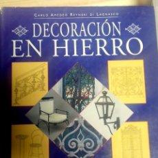 Libros antiguos: CARLO AMEDEO, DECORACIÓN EN HIERRO, FORJA, HIERRO FORJADO. Lote 155802866