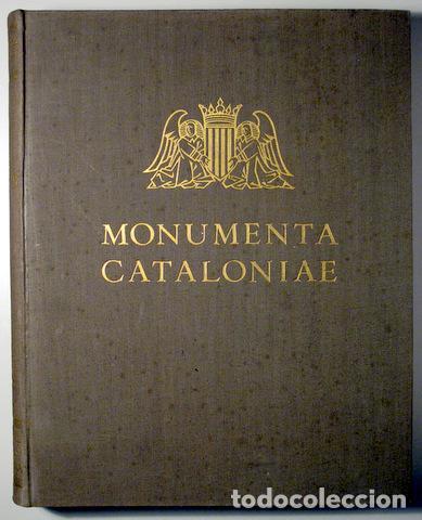 GUDIOL RICART, JOSEP - MONUMENTA CATALONIAE. VOL. III ELS VIDRES CATALANS - ALPHA 1936 - PAPER DE FI (Libros Antiguos, Raros y Curiosos - Bellas artes, ocio y coleccion - Diseño y Fotografía)