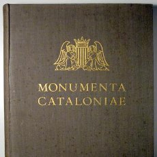 Libros antiguos: GUDIOL RICART, JOSEP - MONUMENTA CATALONIAE. VOL. III ELS VIDRES CATALANS - ALPHA 1936 - PAPER DE FI. Lote 157687590