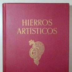 Libros antiguos: KOWALCZYK, GEORG - HIERROS ARTÍSTICOS. RESUMEN DEL ARTE DE LA FORJA DESDE LA EDAD MEDIA HASTA FINES. Lote 157687850
