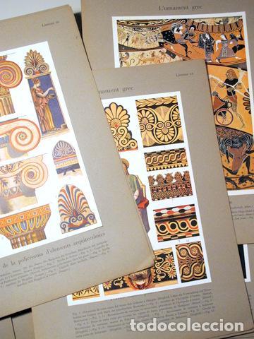 Libros antiguos: SPELTZ, Alexandre - L'ORNAMENT POLICROM, EN TOTS ELS ESTILS HISTORICS (3 vol. - Complet) - Barcelona - Foto 3 - 157687930