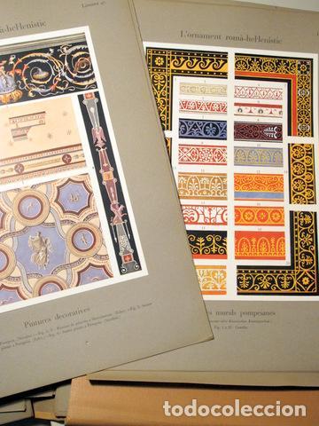 Libros antiguos: SPELTZ, Alexandre - L'ORNAMENT POLICROM, EN TOTS ELS ESTILS HISTORICS (3 vol. - Complet) - Barcelona - Foto 4 - 157687930