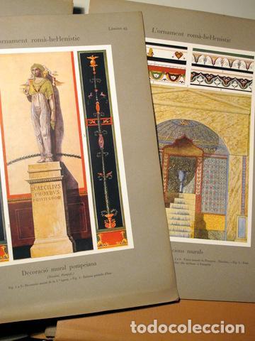 Libros antiguos: SPELTZ, Alexandre - L'ORNAMENT POLICROM, EN TOTS ELS ESTILS HISTORICS (3 vol. - Complet) - Barcelona - Foto 5 - 157687930