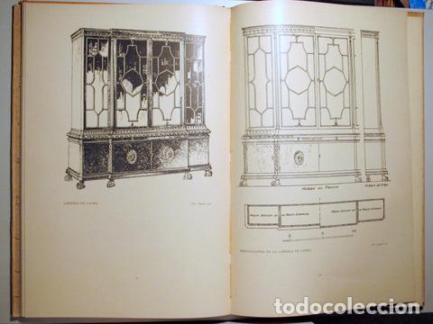 Libros antiguos: HILDESLEY - PROYECTOS DE MOBILIARIO Y DECORACIÓN INGLESES - Barcelona 1929 - Muy ilustrado - Foto 2 - 157687966