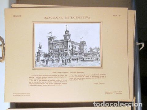 Libros antiguos: CAPMANY, A. - ÀLBUM FOTOGRÀFIC BARCELONA RETROSPECTIVA 1800-1900 - Barcelona 1929 - 60 Fotografies - Foto 3 - 157688078
