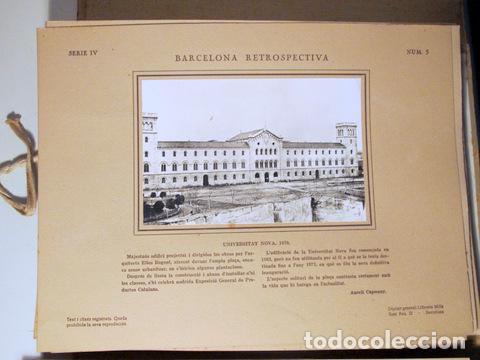 Libros antiguos: CAPMANY, A. - ÀLBUM FOTOGRÀFIC BARCELONA RETROSPECTIVA 1800-1900 - Barcelona 1929 - 60 Fotografies - Foto 5 - 157688078