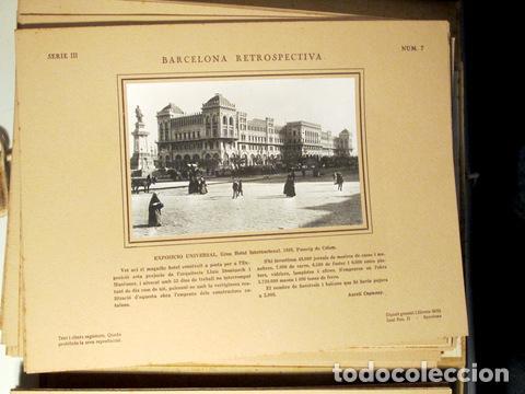 Libros antiguos: CAPMANY, A. - ÀLBUM FOTOGRÀFIC BARCELONA RETROSPECTIVA 1800-1900 - Barcelona 1929 - 60 Fotografies - Foto 6 - 157688078