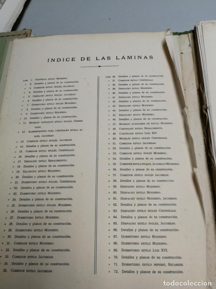 Libros antiguos: ARTE DEL MUEBLE REVISTA DE MOBILIARIOS VICTOR DE FALGÁS TOMO 1 2 3 CUADERNOS DE DISEÑO Y DECORACION - Foto 11 - 157764678