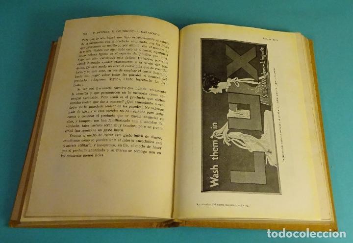 Libros antiguos: LA TÉCNICA DEL CARTEL MODERNO. P. DERMÉE Y E. COURMONT. COL. LA NUEVA TÉCNICA DE LOS NEGOCIOS - Foto 2 - 157940586