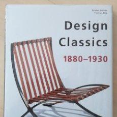 Libros antiguos: DESIGN CLASSICS 1880 - 1930 (TASCHEN). Lote 162584606