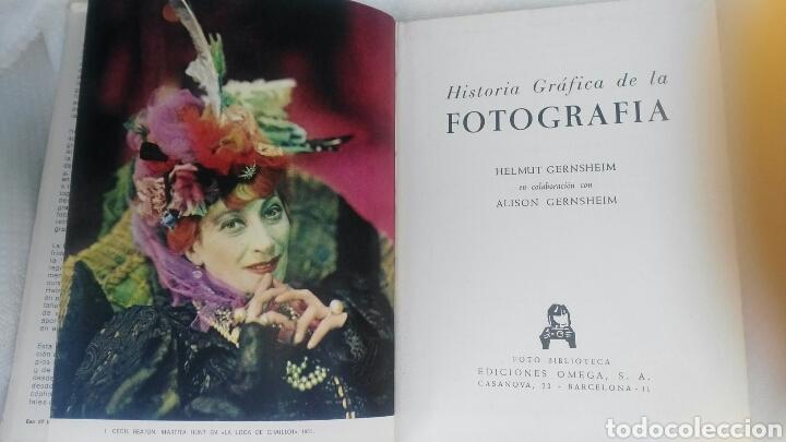 Libros antiguos: Historia grafica de la fotografia - Foto 2 - 162819838