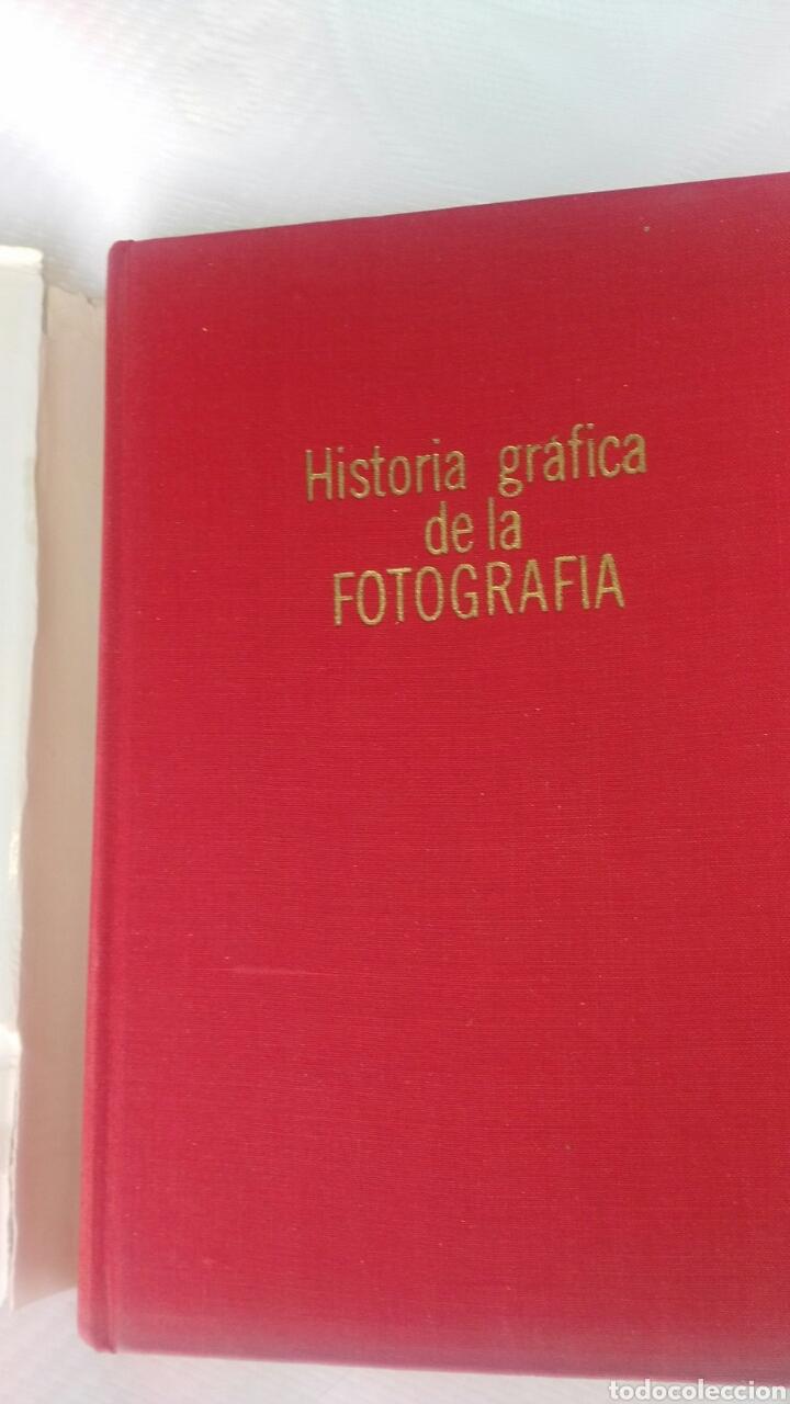 Libros antiguos: Historia grafica de la fotografia - Foto 3 - 162819838