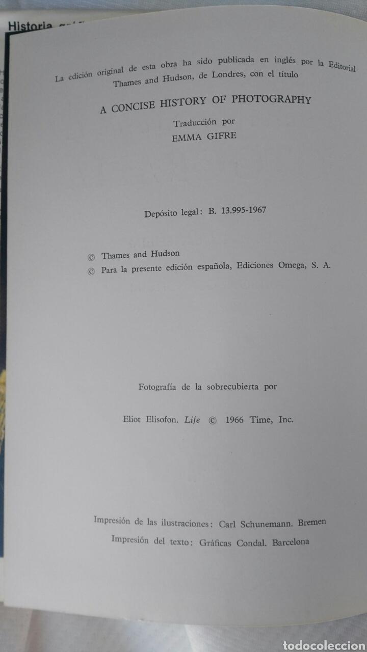 Libros antiguos: Historia grafica de la fotografia - Foto 5 - 162819838