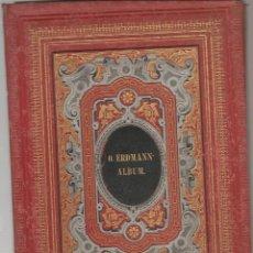 Libros antiguos: ALBUM FOTOGRAFIAS JOHANN ERDMANN ULBUM LITOGRAFO FRANZ HANFFTAENGL MUNCHEN ,PROX 1880 . Lote 163009142