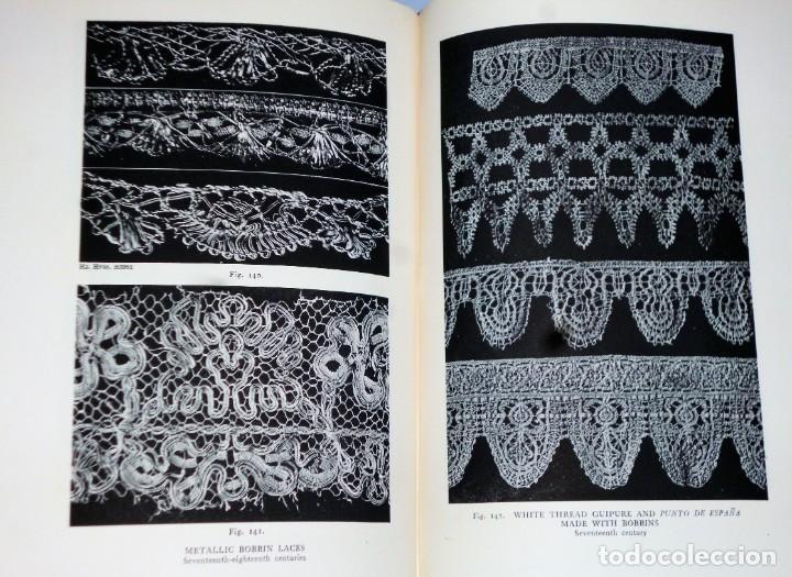 Libros antiguos: HISPANIC LACE AND LACE MAKING.(sobre el encaje español, con 432 ilustraciones) - Foto 3 - 166341302