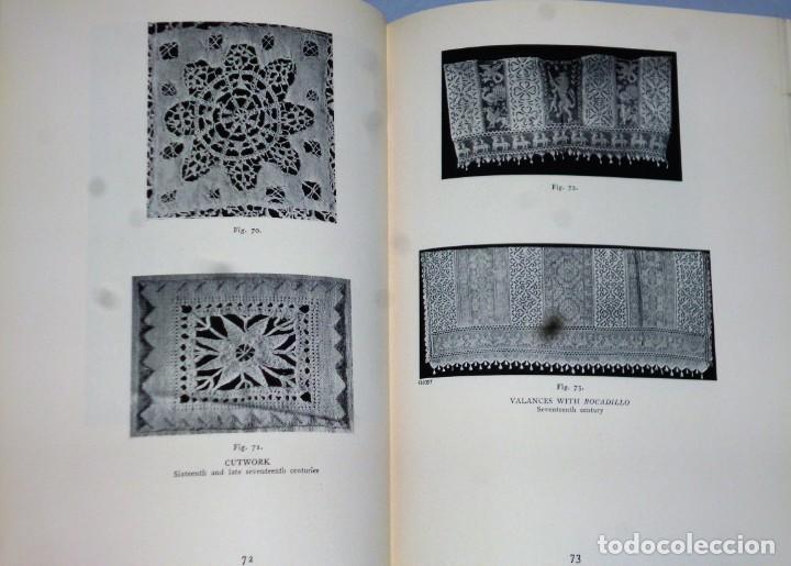 Libros antiguos: HISPANIC LACE AND LACE MAKING.(sobre el encaje español, con 432 ilustraciones) - Foto 4 - 166341302